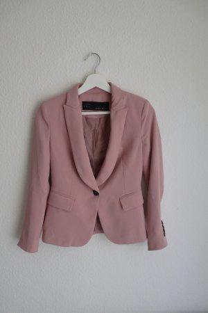 Zara Basic Blazer XS 34 36 rosa *NEU* Business elegant Blogger Fashion