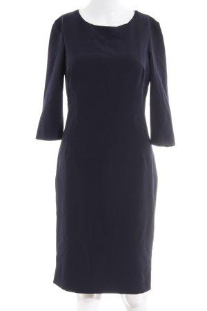 Zara Basic Bleistiftkleid dunkelblau Elegant