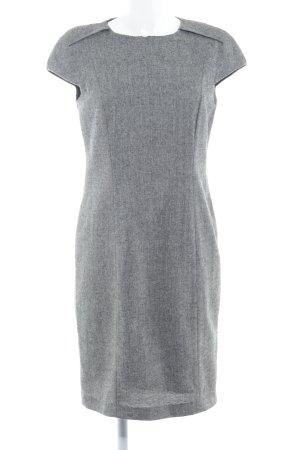 Zara Basic Bleistiftkleid grau-dunkelgrau meliert Elegant