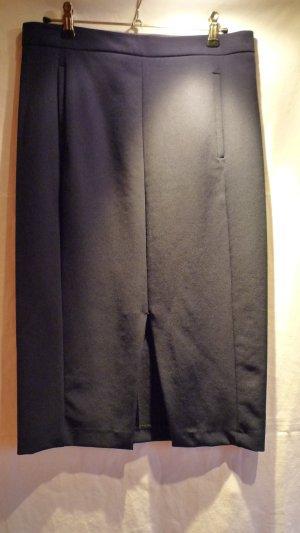 Zara Basic Bleistiftrock dunkelblau Gr. M (38/40)