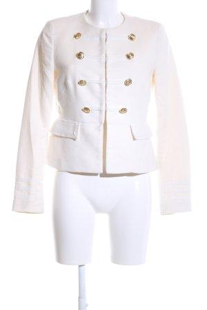 Zara Basic Blouson white elegant
