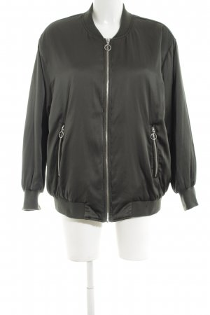 Zara Basic Blouson khaki Casual-Look