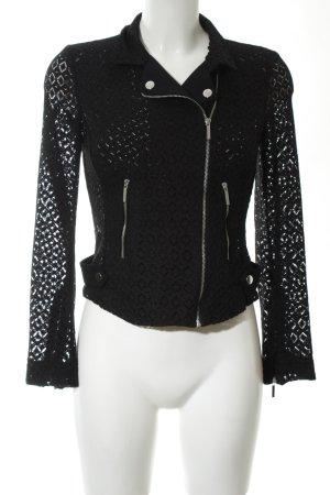 Zara Basic Blouson noir style extravagant