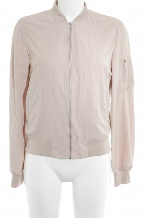 Zara Basic Blouson altrosa Casual-Look