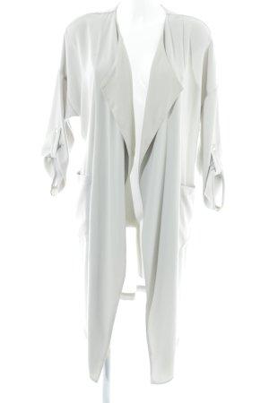 Zara Basic Blouson crema stile professionale