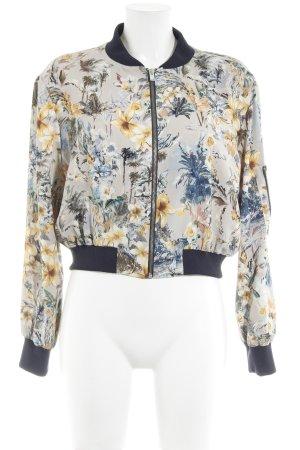 Zara Basic Blouson motif floral style mode des rues