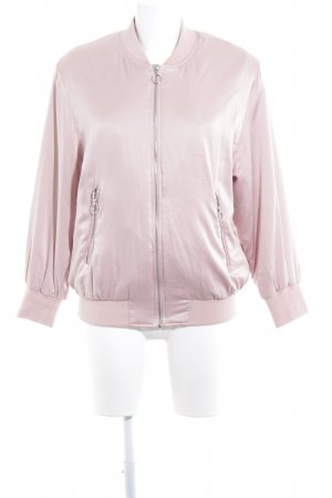 Zara Basic Blouson nude Casual-Look
