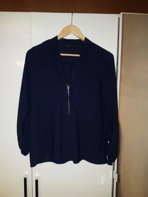 Zara Camicetta a blusa blu scuro