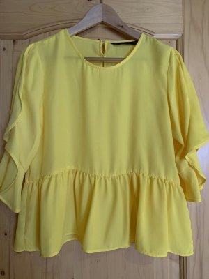 * Zara Basic * Bluse gelb Gr.M EDEL & TOP !!!