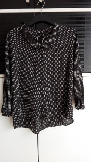 Zara Basic Oversized Blouse black