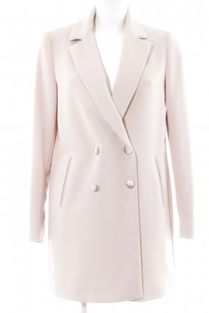 Zara Basic Blusenjacke roségoldfarben Business-Look