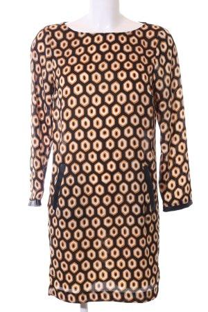 Zara Basic Blusenkleid Allover-Druck Elegant