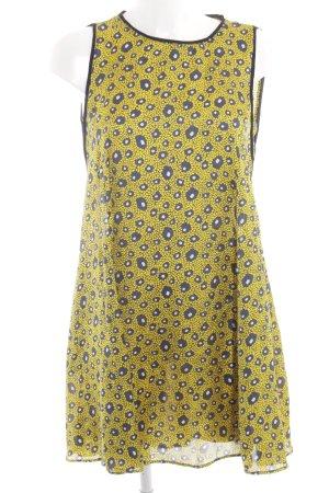 Zara Basic Robe chemisier imprimé allover style décontracté