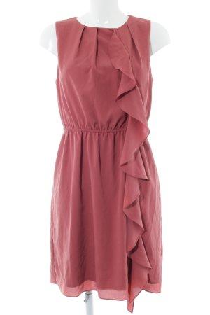 Zara Basic Blusenkleid rot Elegant