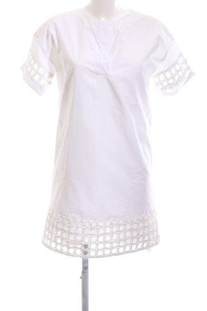 Zara Basic Robe chemisier blanc style simple