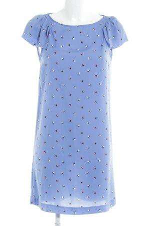 Zara Basic Blusenkleid Punktemuster Casual-Look