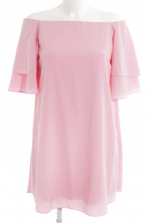 Zara Basic Blusenkleid rosa Elegant