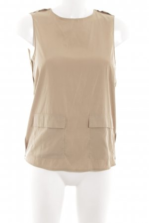 Zara Basic Blusentop nude Casual-Look