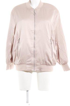 Zara Basic Blouson aviateur vieux rose style décontracté