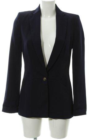 Zara Basic Boyfriend-Blazer blau-dunkelblau Business-Look