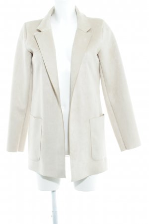 Zara Basic Boyfriend-Blazer creme Casual-Look