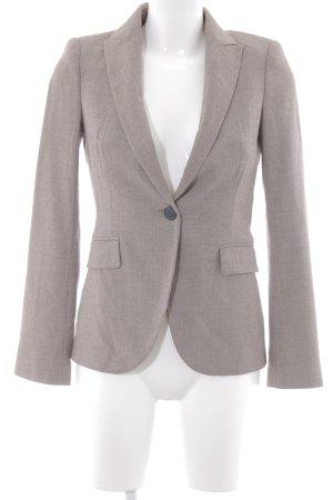 Zara Basic Boyfriend-Blazer graubraun Brit-Look