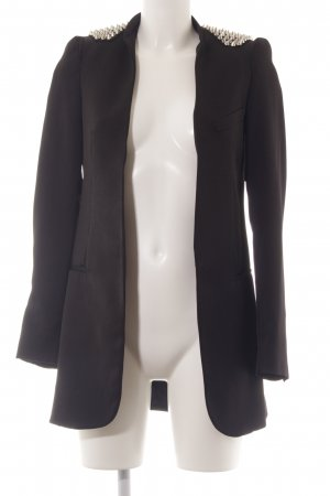 Zara Basic Boyfriend Blazer black casual look