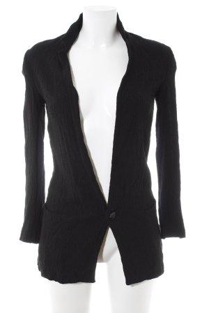 Zara Basic Boyfriend-Blazer schwarz Elegant