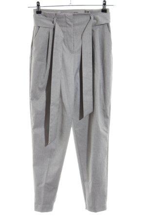 Zara Basic Pantalón de pinza gris claro estilo «business»