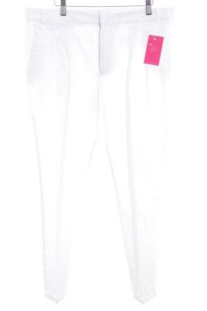 Zara Basic Pantalon à pinces blanc style d'affaires