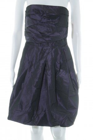 Zara Basic Bustierkleid braunviolett Elegant