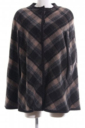 Zara Basic Cape Karomuster Casual-Look