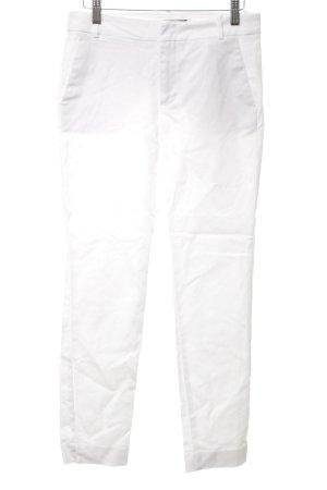 Zara Basic Capribroek wit casual uitstraling