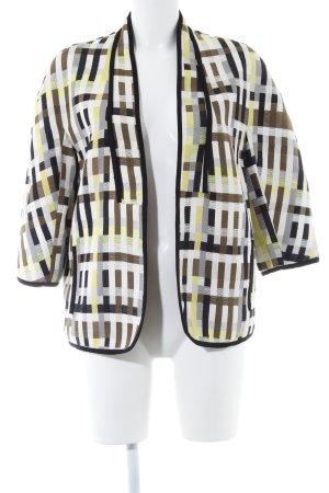 Zara Basic Cardigan abstraktes Muster extravaganter Stil