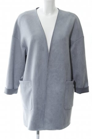 Zara Basic Cardigan blassblau Casual-Look