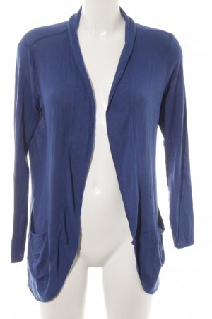 Zara Basic Cardigan blau Casual-Look
