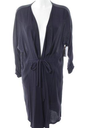 Zara Basic Cardigan dunkelblau Casual-Look