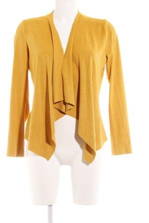 Zara Basic Cardigan hellorange Casual-Look
