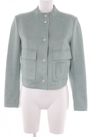 Zara Basic Cardigan mint Casual-Look