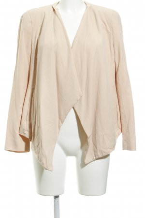 Zara Basic Cardigan nude casual uitstraling
