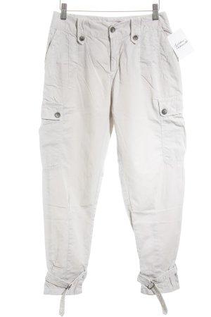 Zara Basic Cargohose beige Military-Look