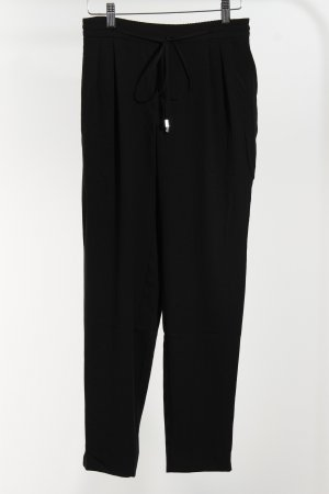 Zara Basic Cargo Pants black simple style