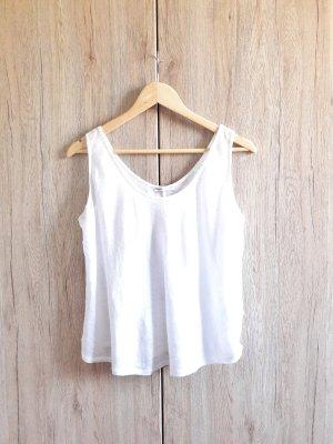 Zara Basic Top basic bianco