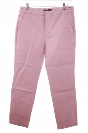 Zara Basic Chinohose altrosa Casual-Look