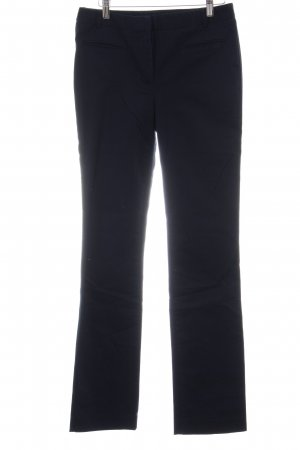 Zara Basic Chinohose dunkelblau Business-Look