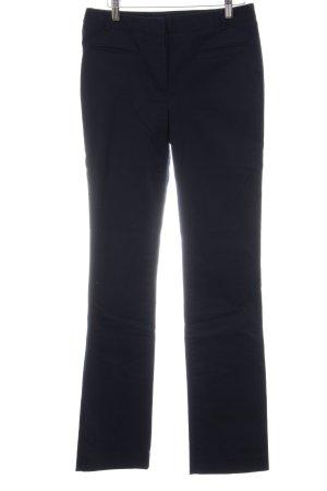 Zara Basic Chinos dark blue business style