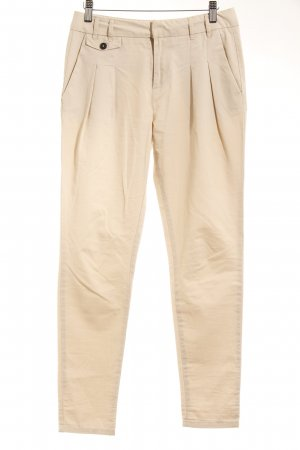 Zara Basic Chinohose hellbeige Casual-Look
