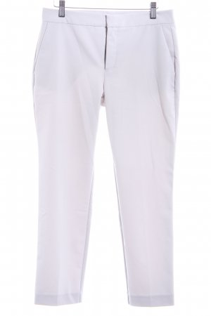 Zara Basic Chinohose hellgrau Casual-Look