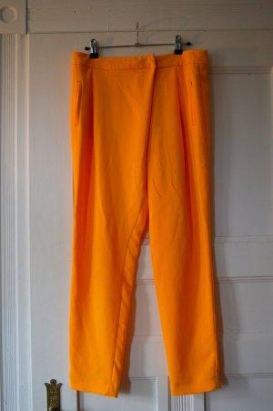 Zara Basic Pantalone chino giallo-giallo scuro