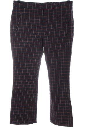 Zara Basic Chinos check pattern business style